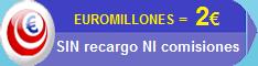 Compra tu Euromillones sin recargo ni comisiones