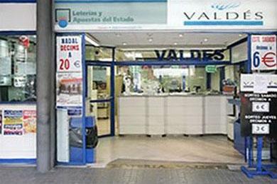 Administracion nº 84 de Barcelona - Loteria Valdes