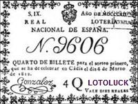LN Quarto de Billete 04-03-1812
