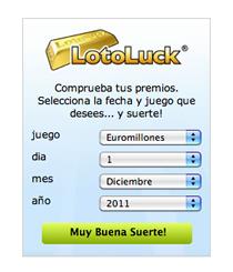 Buscador de loterias LotoLuck