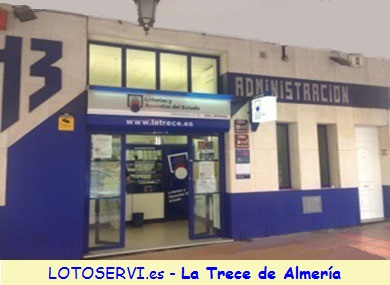 La Trece de Almeria es tu loteria por internet