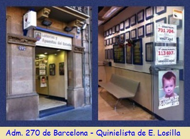 Administracion nº 270 de Barcelona - Quinielista